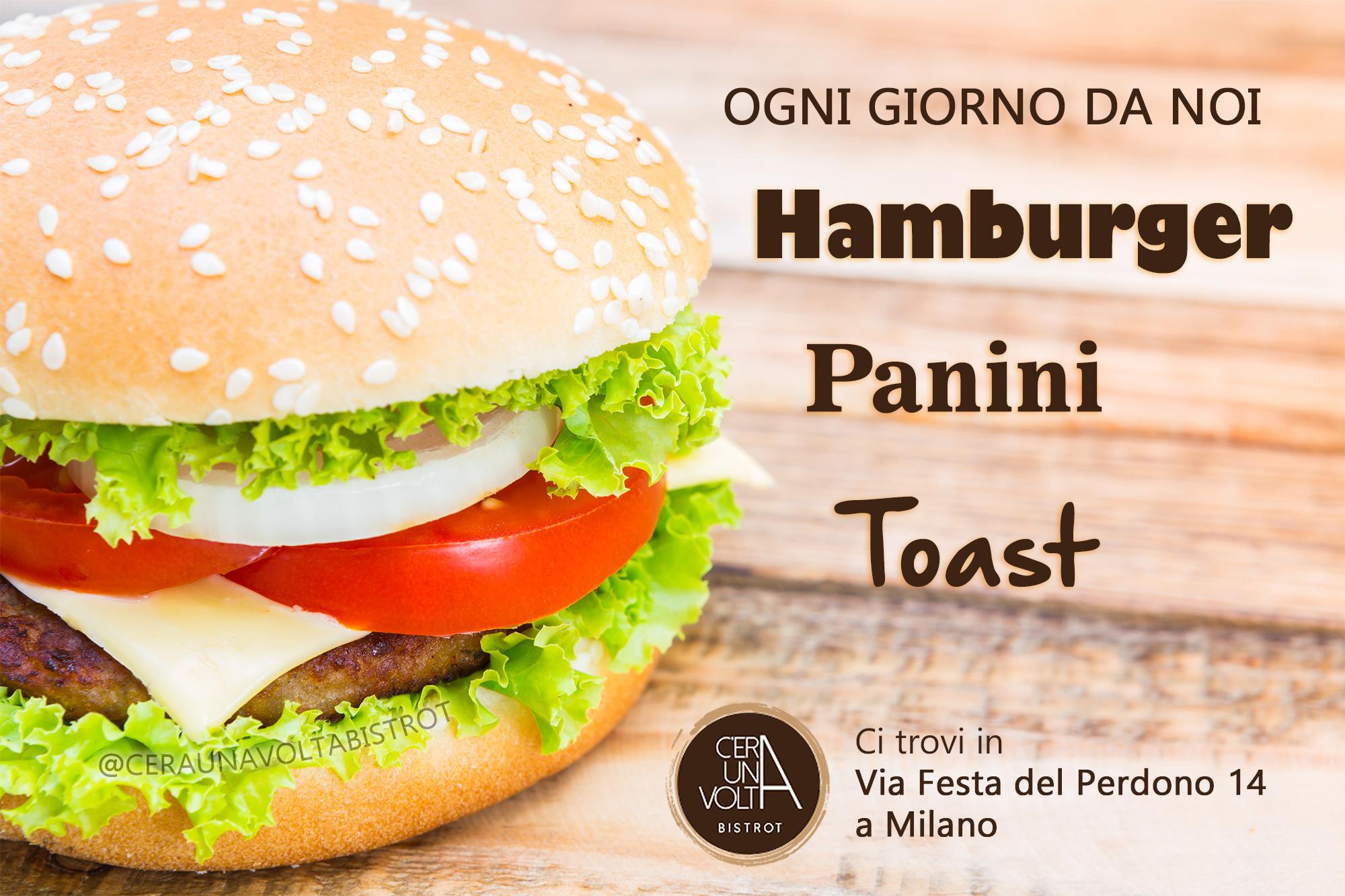 hamburger - pranzo